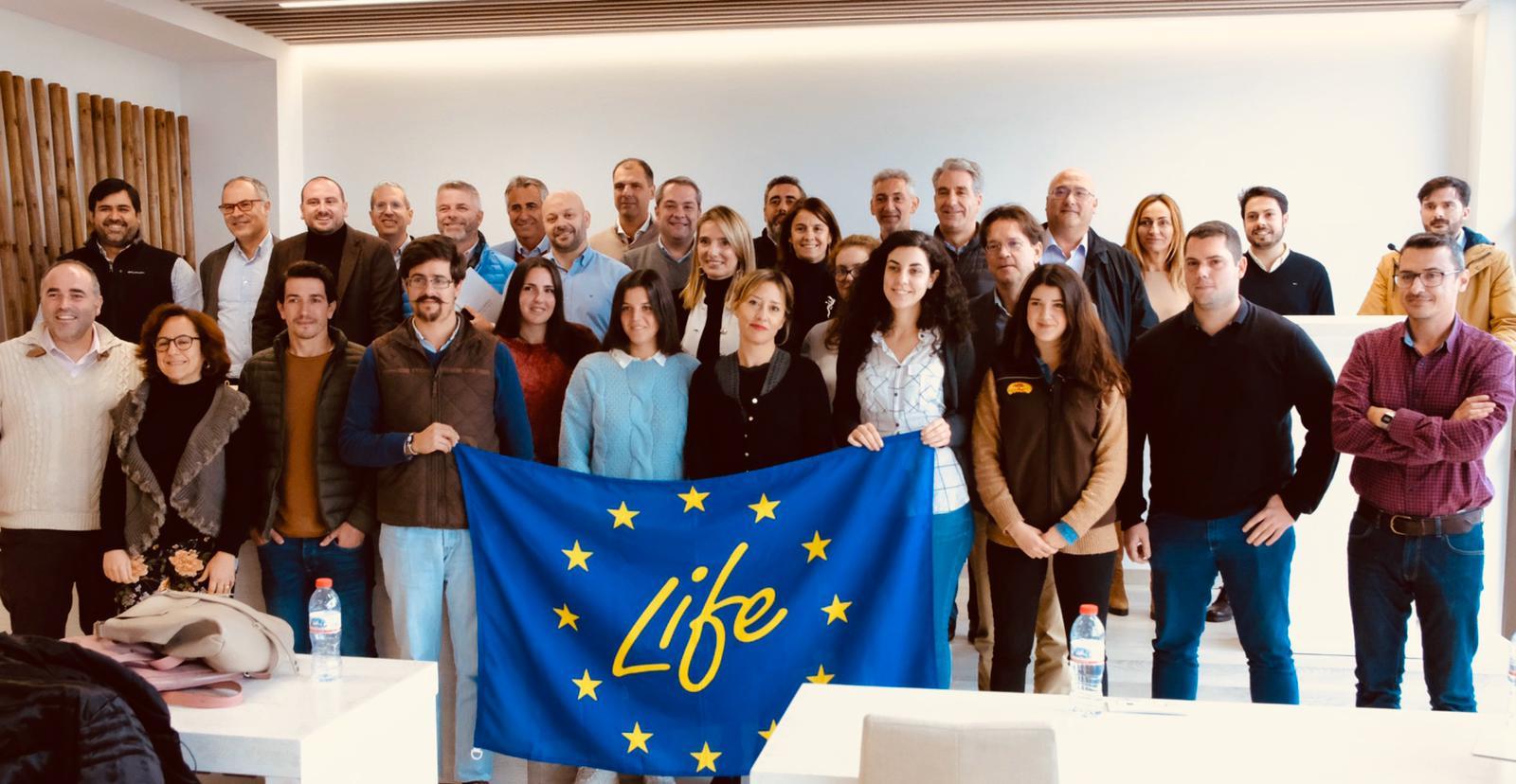 Los proyectos LIFE liderados desde Andalucía estudian las posibilidades de colaboración y creación de sinergias