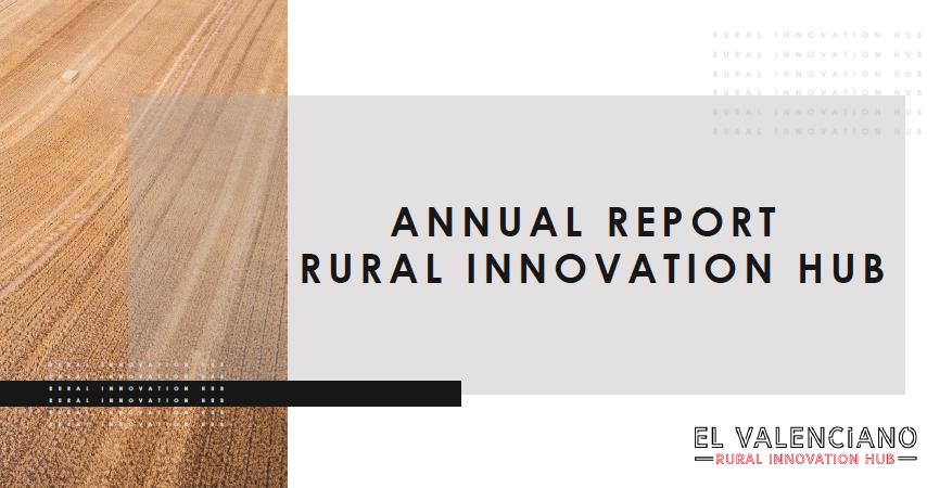Annual Report - Rural Innovation Hub